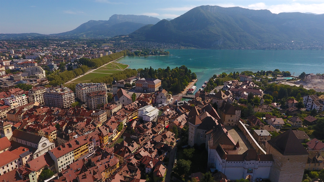 Annecy, sur un air de Californie