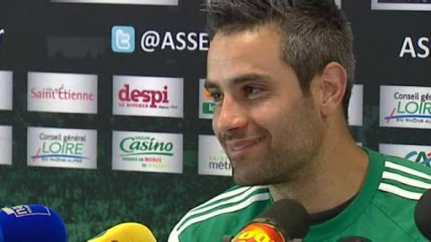 "VIDEO. Loïc Perrin, capitaine de l'ASSE : ""je serai supporter de Clermont"""