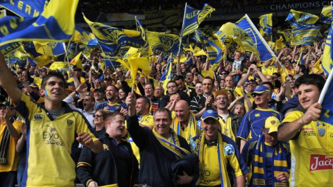 VIDEO. ASM / Saracens : le match au coeur de la Yellow Army