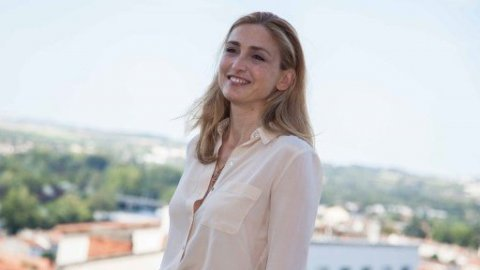 Julie Gayet est la productrice du film  / YOHAN BONNET / AFP