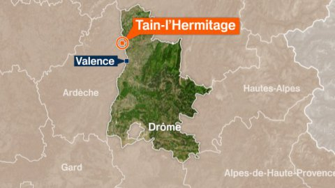 Tain l'hermitage : interception d'un go-fast avec 350 ks de cannabis