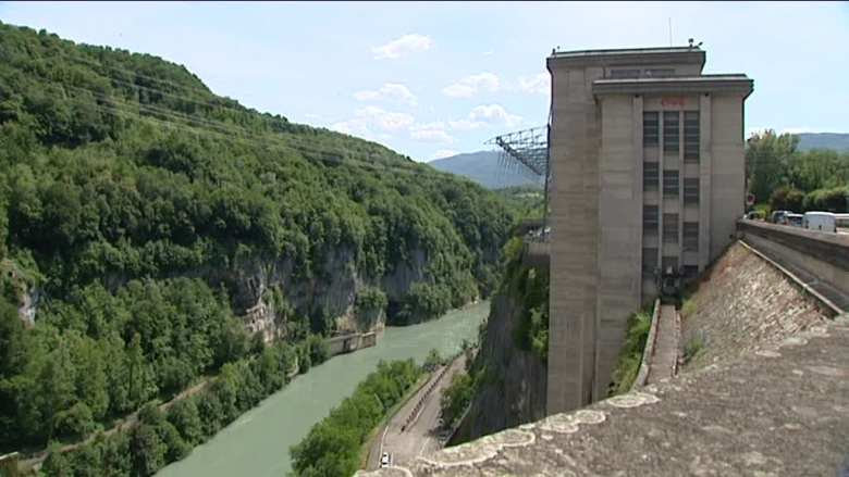 Barrage de Génissiat (Ain) - Archives / © France3 RA