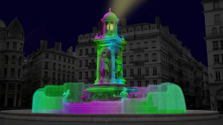 """""""You and the night"""" place des Jacobins / © David Udovtsch"""