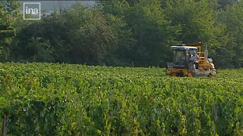 En 2004, les machines sont devenues de véritables engins agricoles / © INA