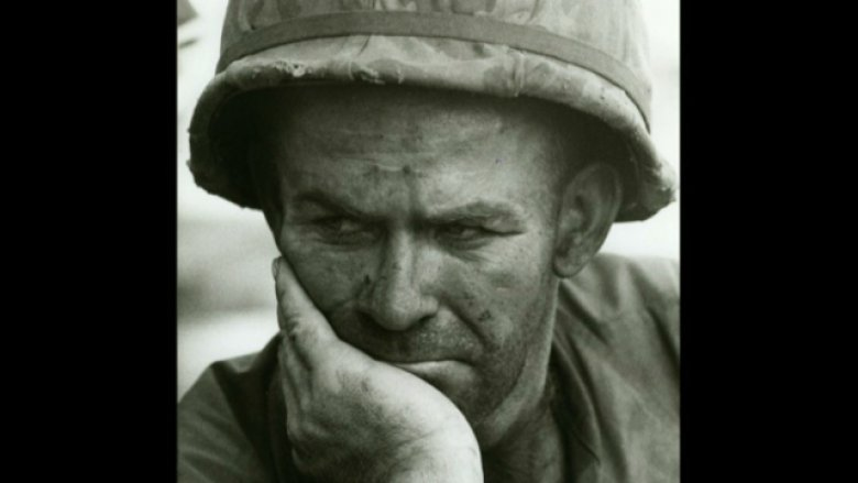 US soldier, Battle of Dak To, Hill 875, South Vietnam, November 1967 / © Fondation Gilles Caron Contact Press Images