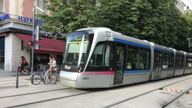 Le tramway de Grenoble. Photo d'illustration. / © Yann Gonon - France 3 Alpes.