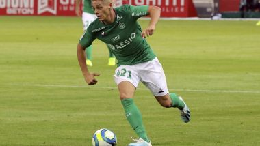 10-08-2019- ligue 1, 1ère journée, dijon fco - as st étienne, Romain Hamouma, AS St Etienne / © MAXPPP