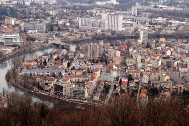 Vue de Grenoble. Photo d'illustration. / © JEAN-PIERRE CLATOT / AFP