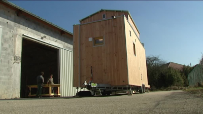 Ain: Tiny-House made in Artemare