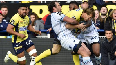 Top 14 : Montpellier fait tomber Clermont 28-19