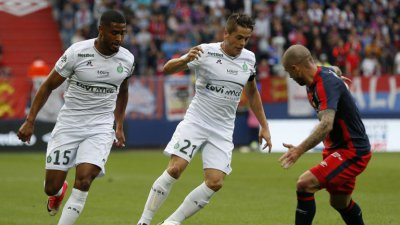 Football: Saint-Etienne l'emporte contre Caen (1-0)