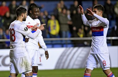 Football : l'OL assure tranquillement sa qualification pour les 8e face à Villareal