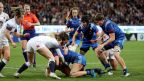 Rugby opposant la France à Angleterre