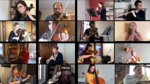 L'Orchestre National de Lyon en concert webcam.