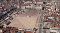 drone place bellecour vide