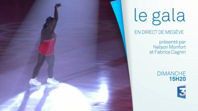 Annonce gala patinage France 3 Alpes