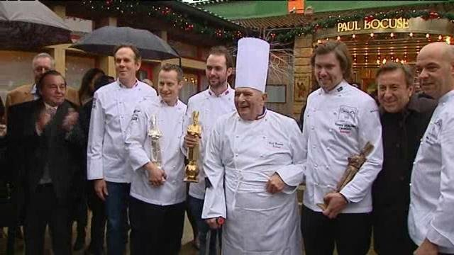 Collonges-au-Mont-d'Or : une apparition surprise de Paul Bocuse