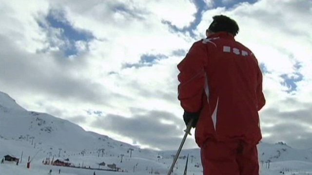 Un moniteur ESF / © France 3 Alpes