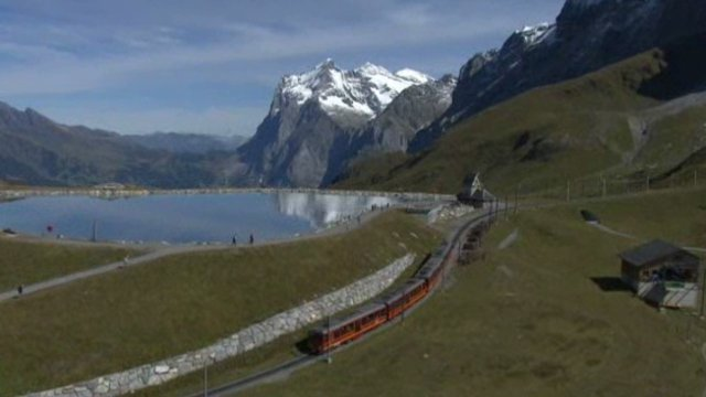 En Suisse, la très haute montagne accessible en train