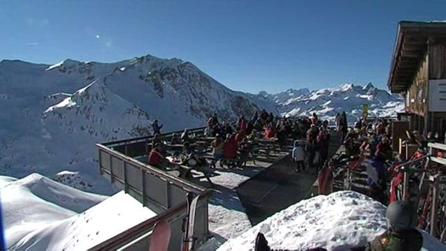 La station de Valfréjus sera ouverte à 80% ce week-end. © Jean-Pierre Rivet - France 3 Alpes