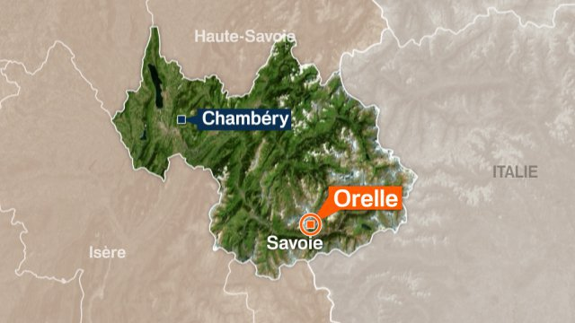 Carte Orelle © France 3 Alpes