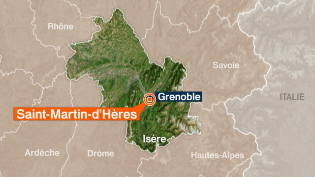 Carte Saint-Martin-d'Hères / © France 3 Alpes