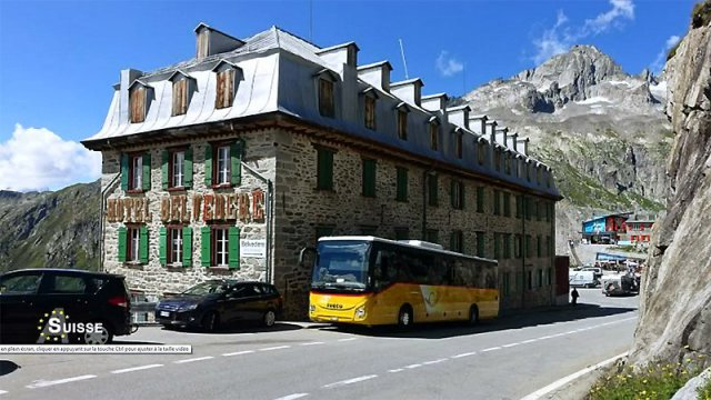 Le car postal / © France 3 Alpes