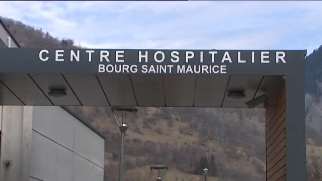 Embouteillages aux urgences de l'hôpital de Bourg-Saint-Maurice