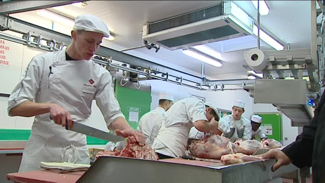 Lucas Bayle - Meilleur apprenti boucher d'Europe / © France 3 RA