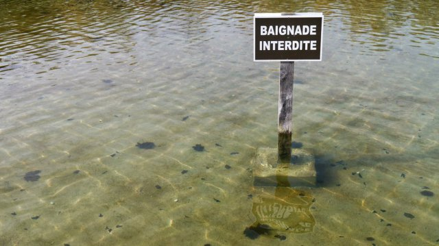 ILLUSTRATION - Baignade interdite. / © Flickr / Groume