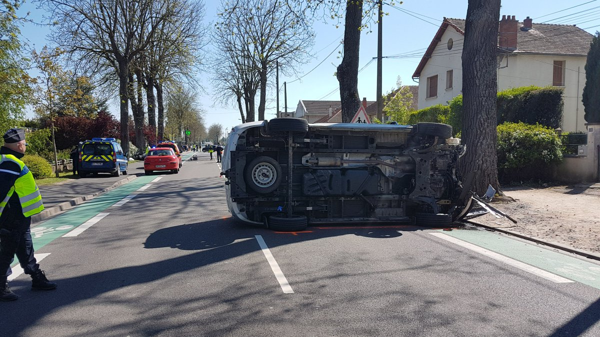 Dramatique accident de voiture à Gannat dans l'Allier