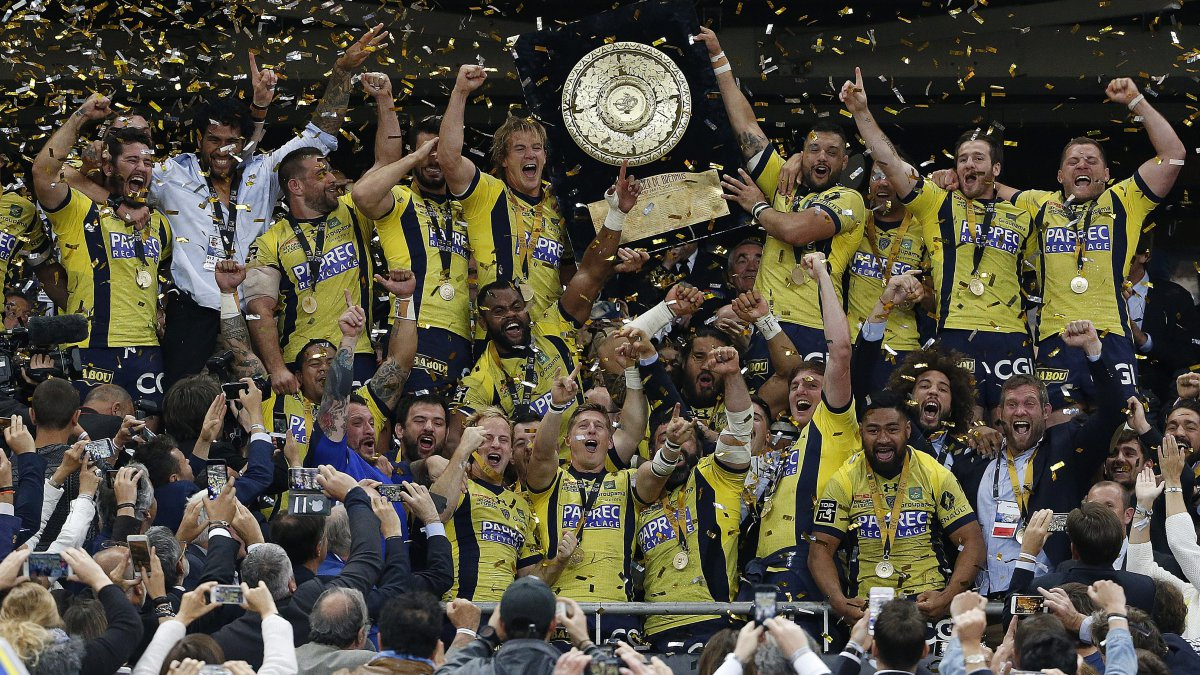 big discount where can i buy utterly stylish Clermont-Ferrand honore les champions de France de rugby ...
