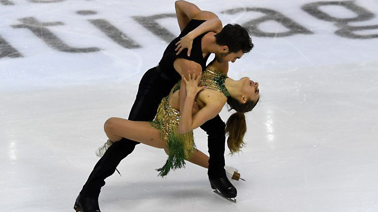Nouveau record du monde pour le couple Papadakis-Cizeron — Internationaux de France