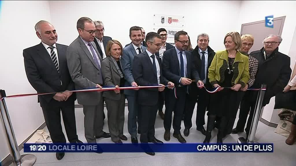 Inauguration du campus Sciences PO Lyon à Saint-Etienne - 4/12/17 / © France 3 RA