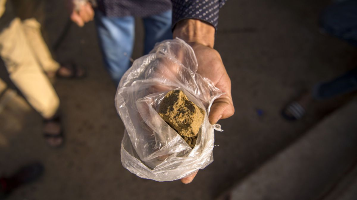 Photo d'illustration. La drogue était importée du Maroc. / © FADEL SENNA / AFP