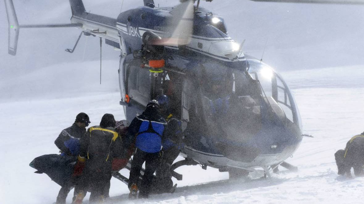 Image d'illustration : les secouristes du PGHM de Chamonix en action / © PHILIPPE DESMAZES / AFP