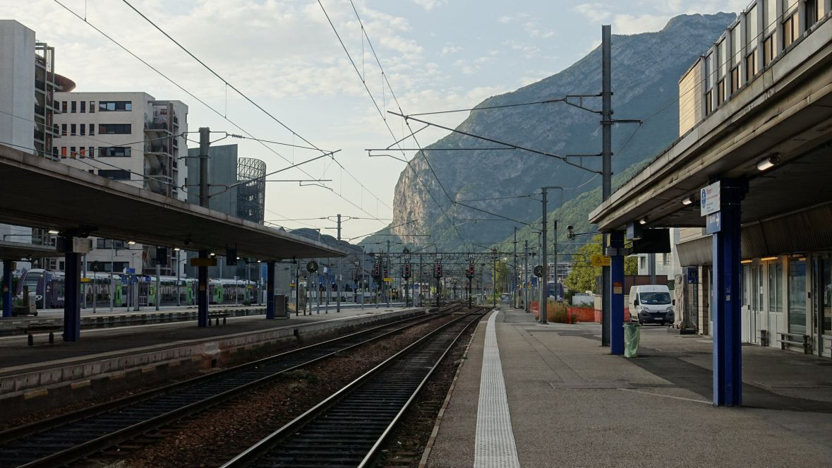 La gare de Grenoble / © Guilhem Vellut / Flickr