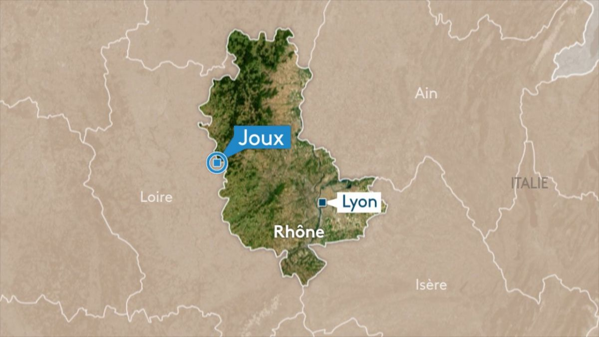 Rhône : accident mortel sur la Nationale 7 à Joux