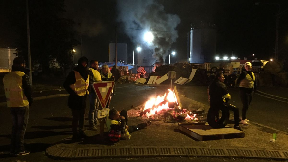 DIRECT. Gilets jaunes : en Auvergne, le point sur les blocages mardi 20 novembre