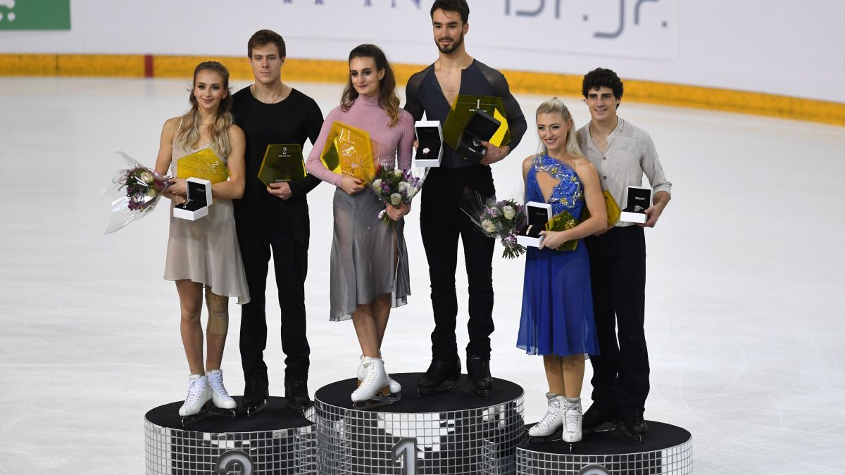 Gabriella Papadakis et Guillaume Cizeron remportent les Internationaux de France de Patinage