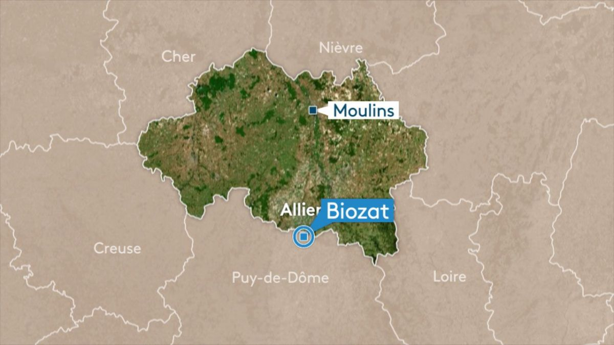Allier : choc frontal mortel à Biozat