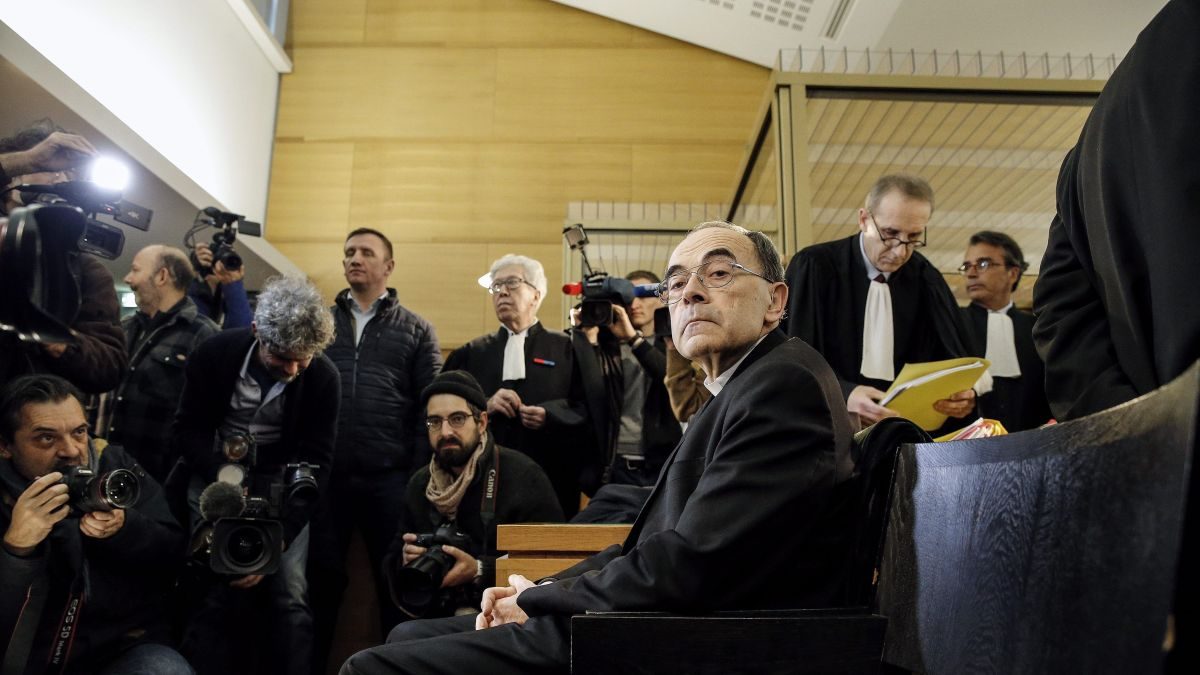 Lyon : Plaidoiries au vitriol au procès de Mgr Barbarin