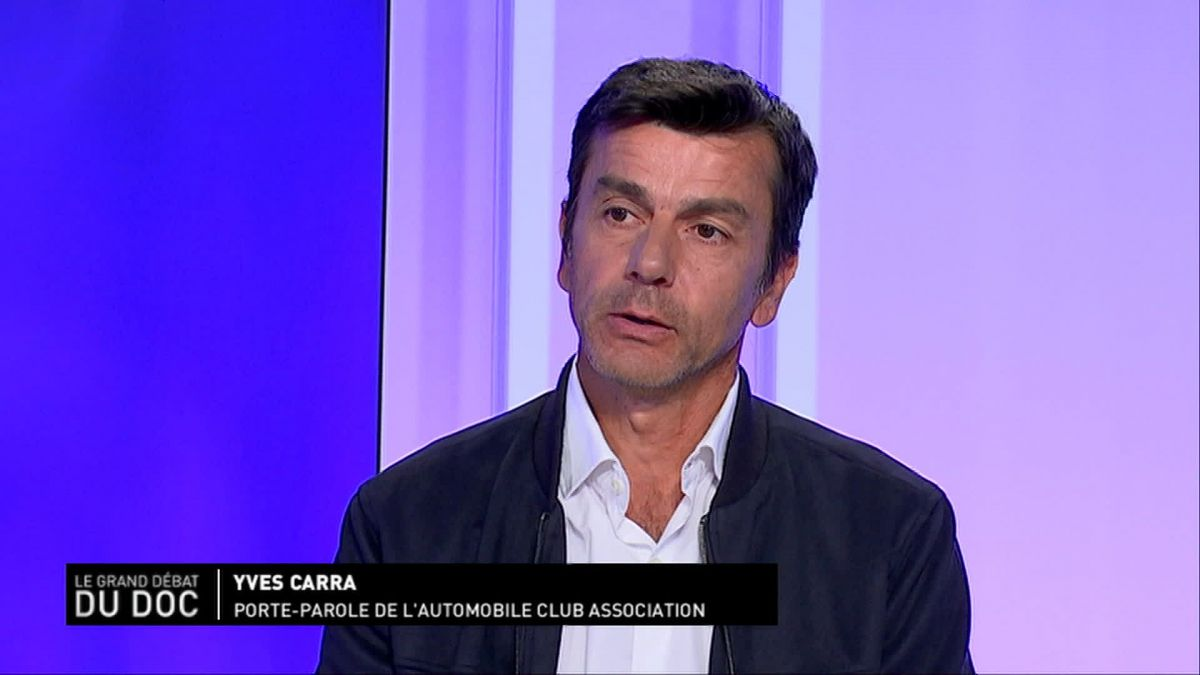 Yves Carra, porte parole de l'Automobile-club / © France 3 RA