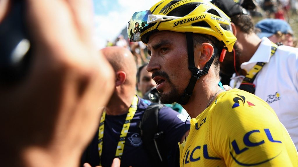 Tour de France : Alaphilippe s'arrache, Bardet s'enlise