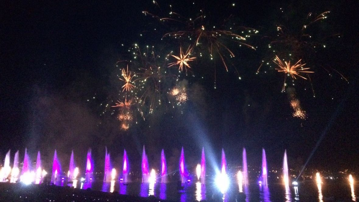 VIDEO. Fête du lac d'Annecy : revoir les meilleurs moments du plan grand spectacle pyrotechnique d'Europe