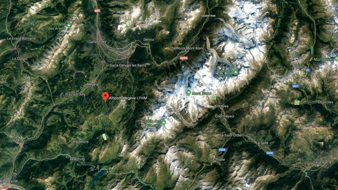 Crash : un avion de tourisme rate son atterrissage à l'altiport de Megève, en Haute-Savoie