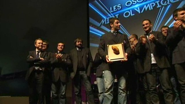 Jonathan Best applaudi par les siens / © France 3 Alpes