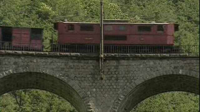 Le petit train de La Mure à la belle époque / © France 3 Alpes