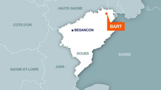 carte bart doubs