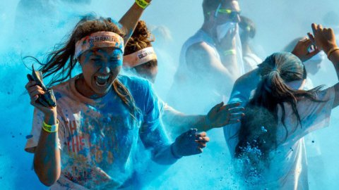 © Photo Color run